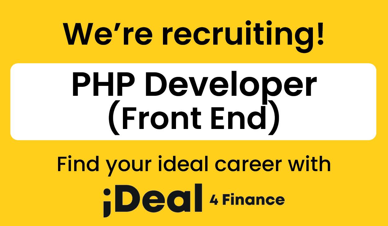 PHP Developer (Front End)